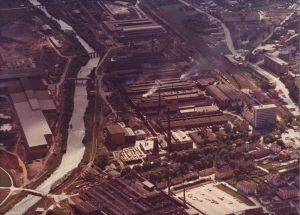 Luftbild Stadtarchiv NK, ca. 1975