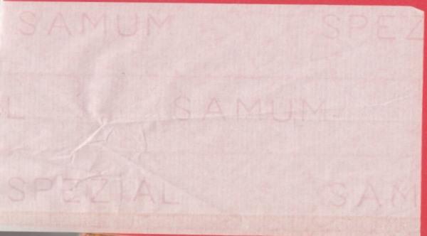 Samum - Paper: Einzelblatt mit Wasserzeichen